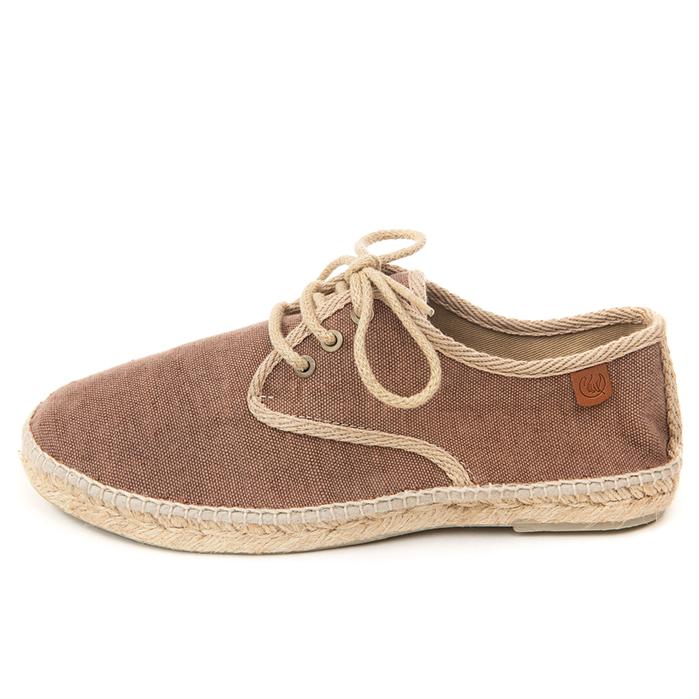 Blucher algodón marrón